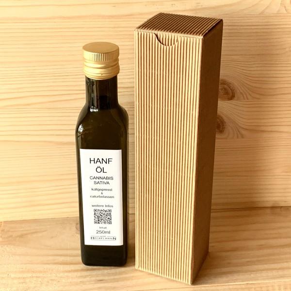 Hanföl In Rohkostqualität - kalt gepresst 250ml